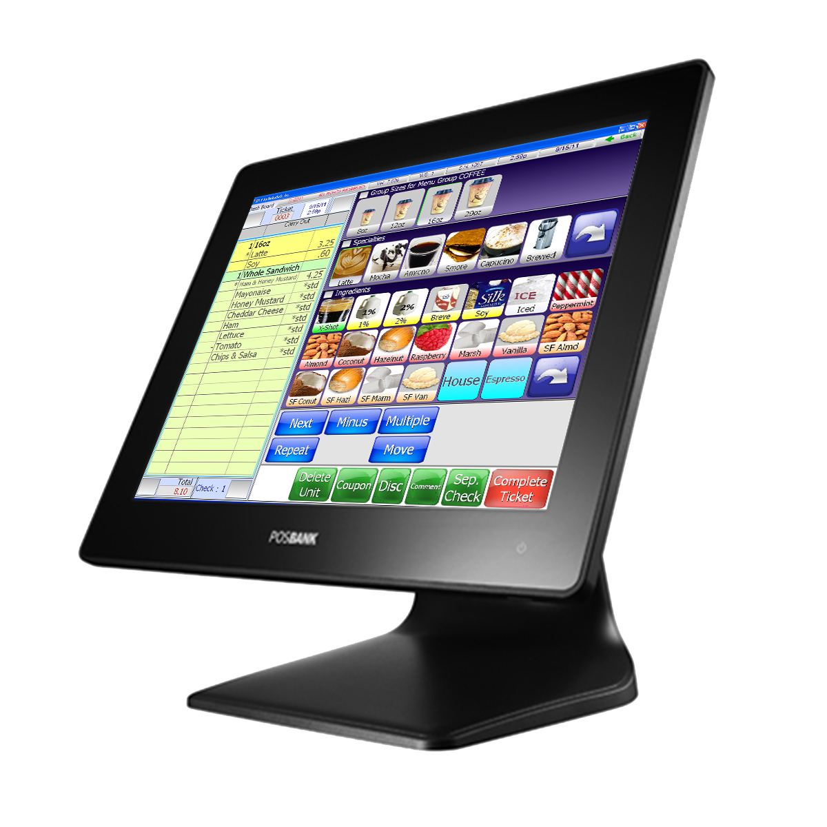 A POS with SelbySoft loaded on it